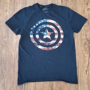 Marvel Avengers Captain America Men's Graphic Tee